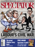 Spectator magazine available from all good newsagents